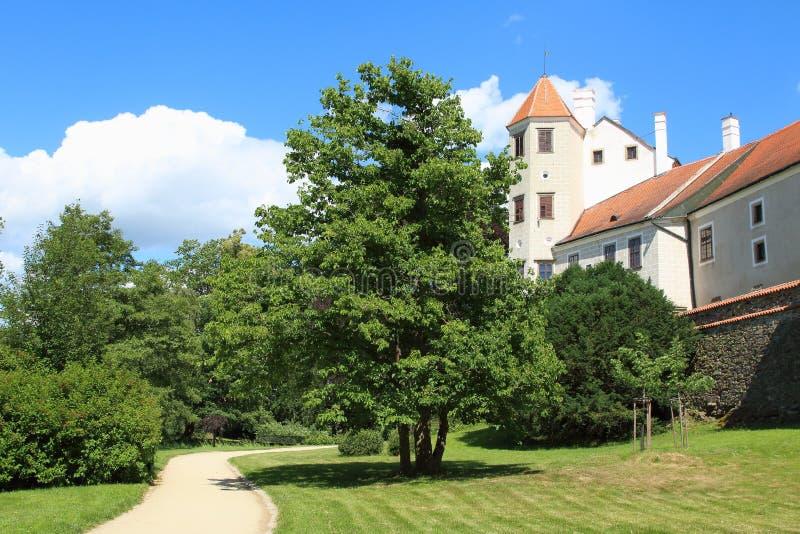 Telc Castle, Czech Republic royalty free stock images