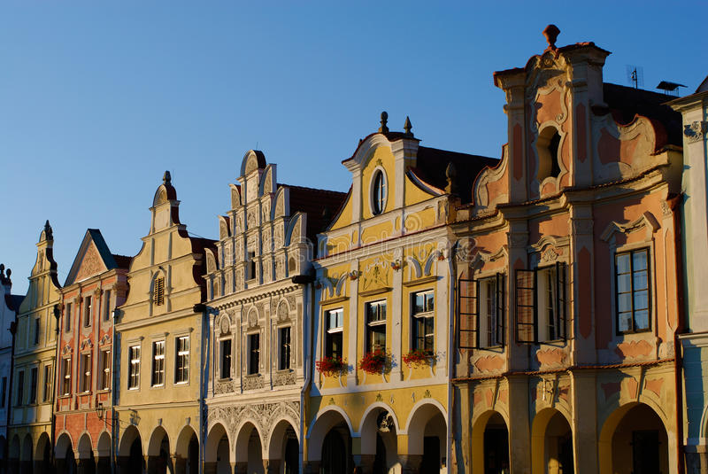 Download Telc, Czech Republic stock image. Image of heritage, historic - 23256159