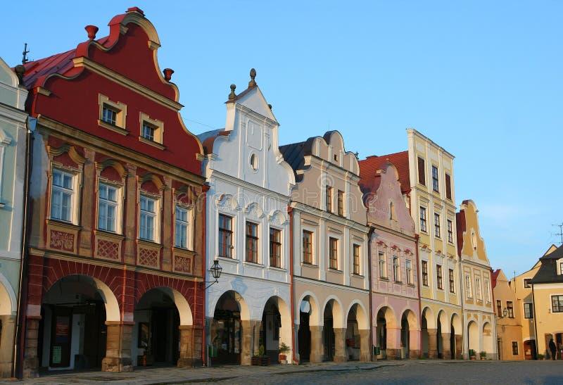 Telc, Tschechische Republik lizenzfreies stockfoto