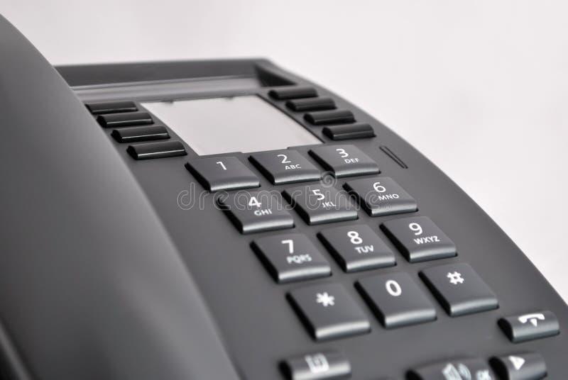Telclado numérico del teléfono fotografía de archivo