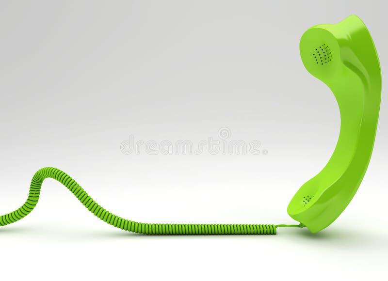 Telco verde royalty illustrazione gratis