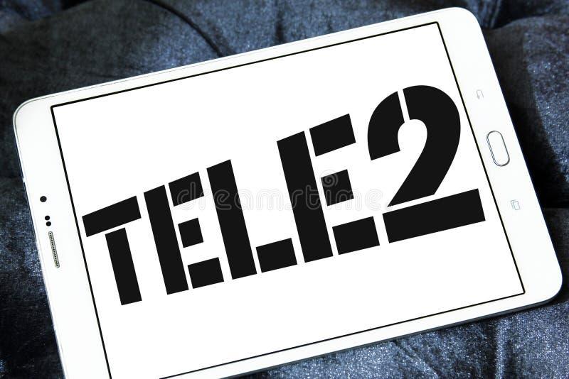 Tele2 AB firmy logo zdjęcia royalty free