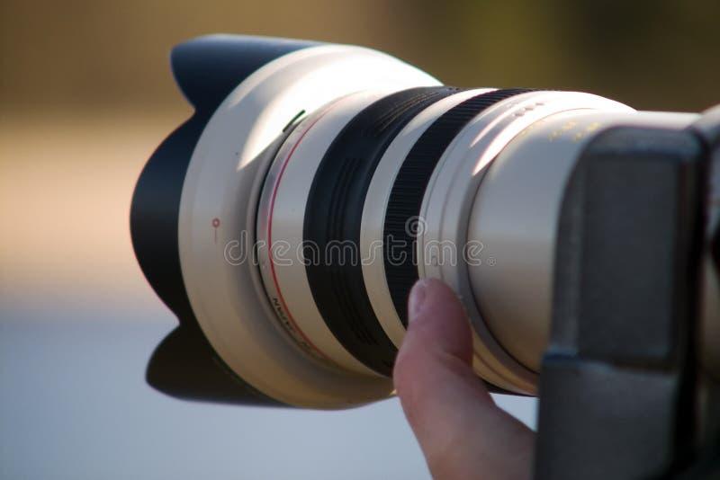 Tele lens stock photos