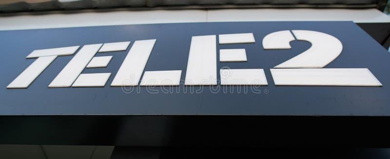 Tele2 photographie stock