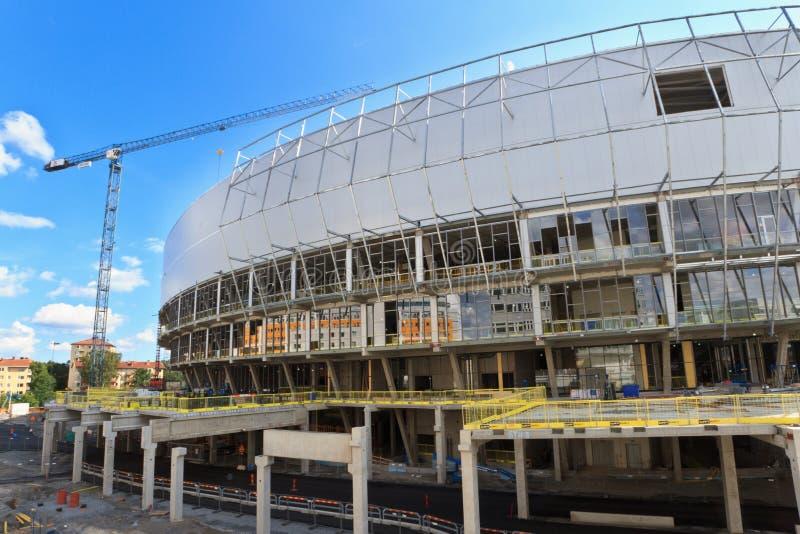 Tele2 Arena in Stockholm stock photo