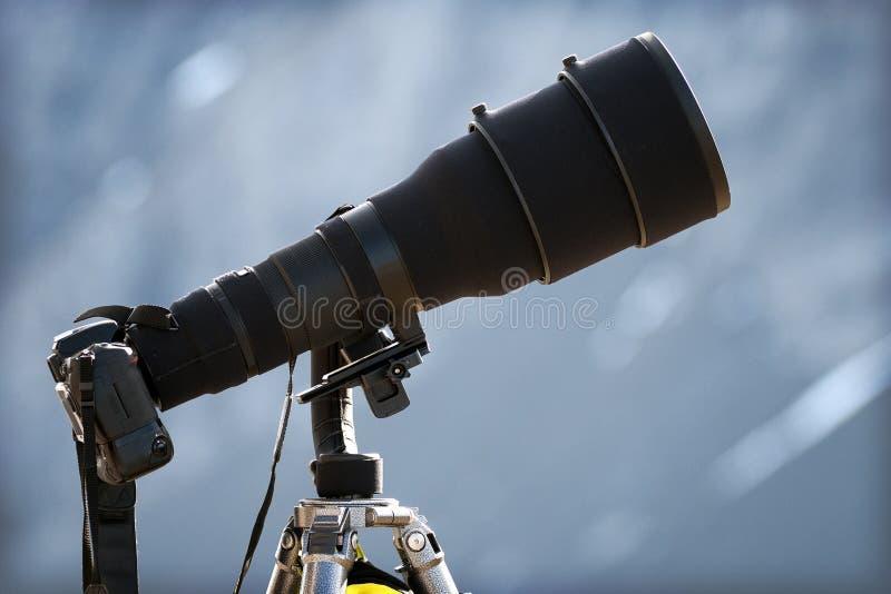 Teleaufnahme-Objektiv lizenzfreie stockfotografie