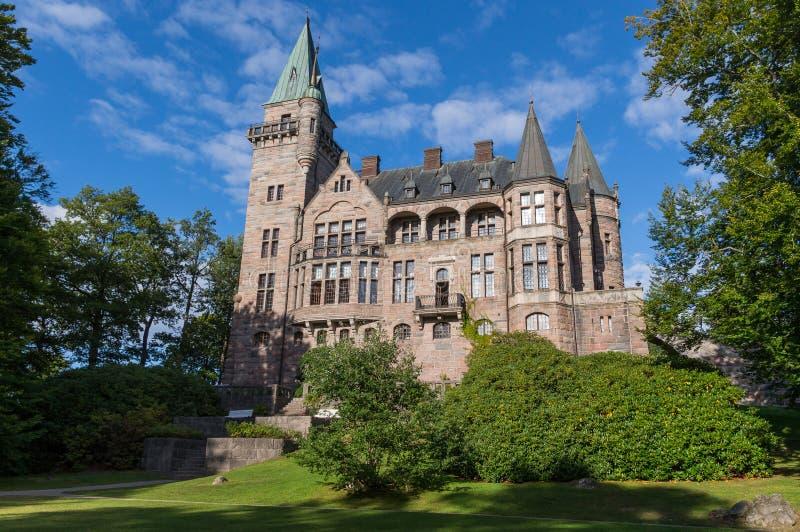 Teleborgs-Schloss in Schweden lizenzfreies stockfoto