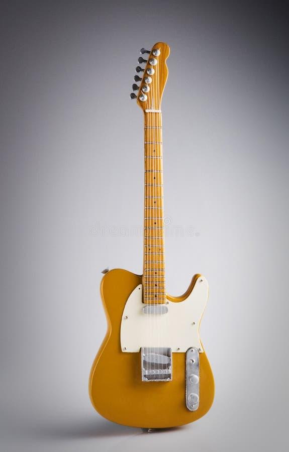 Telecaster modèle d'isolement d'aile de guitare photographie stock libre de droits