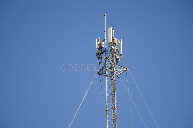Telecom góruje słupa obrazy stock