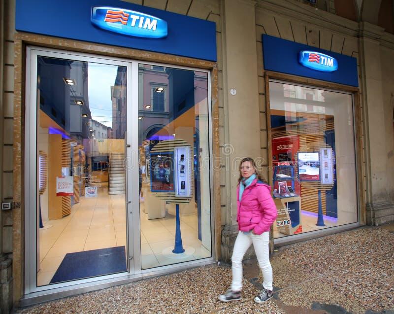 TELECOM ITALIA lizenzfreies stockbild