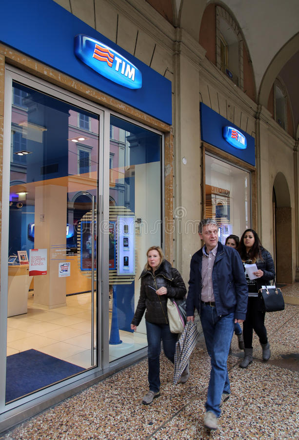TELECOM ITALIA stock photos