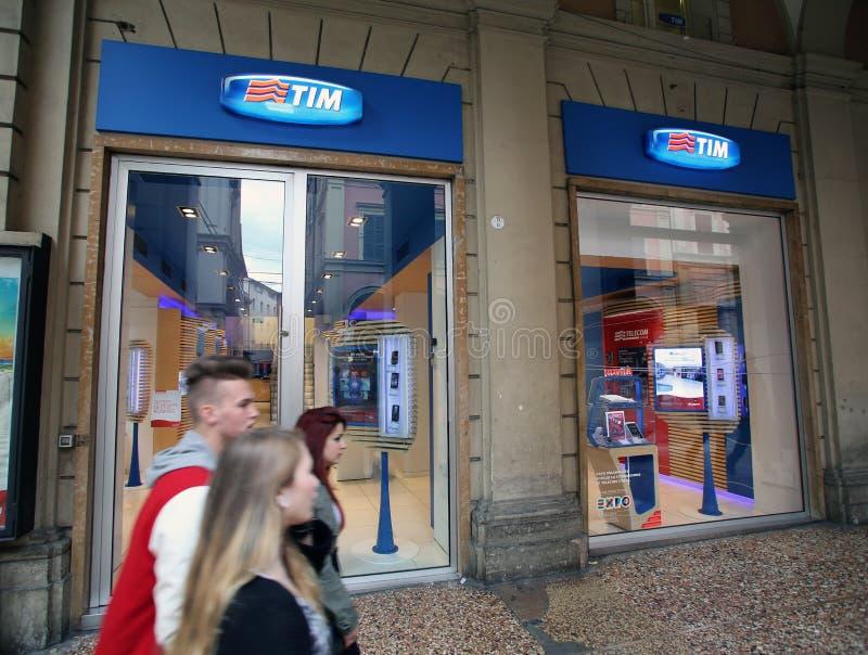 TELECOM ITALIA stock photography
