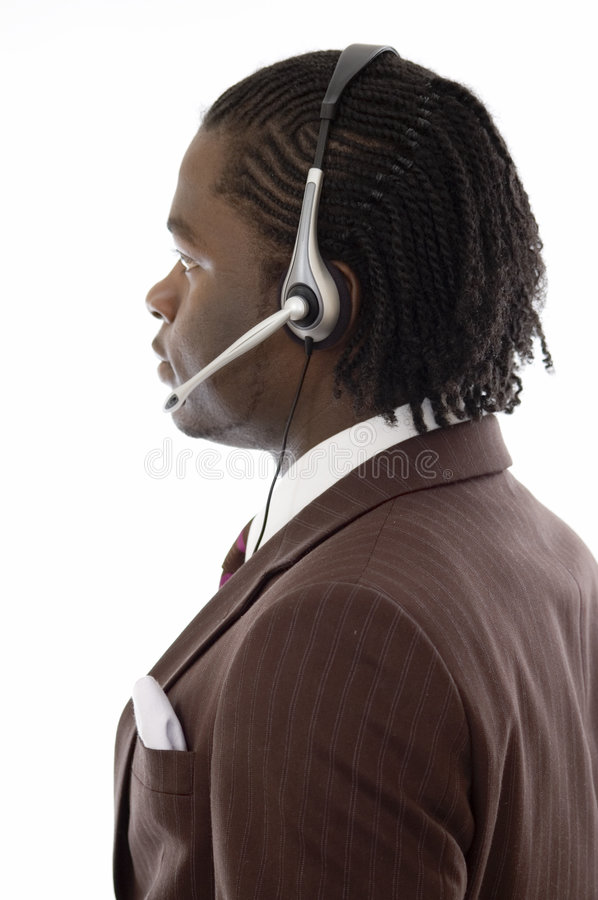 Download Telecom Operator stock image. Image of legal, help, african - 2607899
