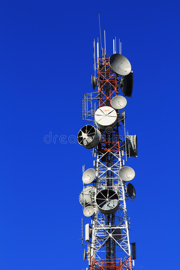 Download Telecom Tower Royalty Free Stock Image - Image: 25735816