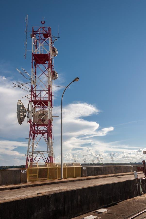 Download Telecom Transmission Tower Itaipu Stock Photo - Image of brazil, transmission: 39503268