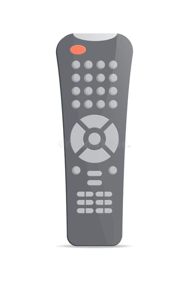 Telecomando di Modertn per l'icona del ricevitore satellitare illustrazione di stock