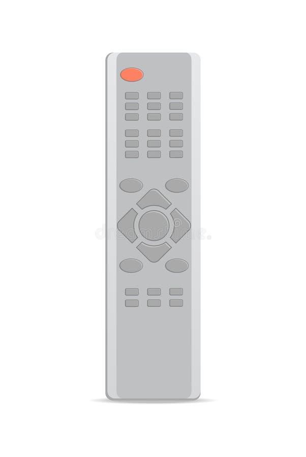 Telecomando per l'icona del ricevitore satellitare illustrazione vettoriale