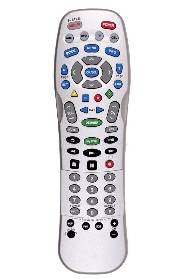 Telecomando - TV immagine stock