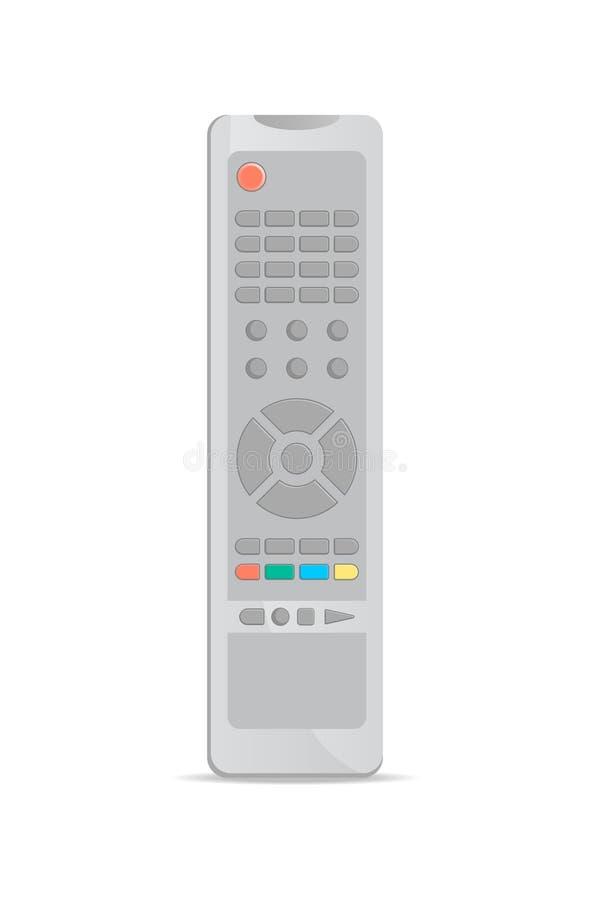 Telecomando universale per l'icona della TV illustrazione di stock