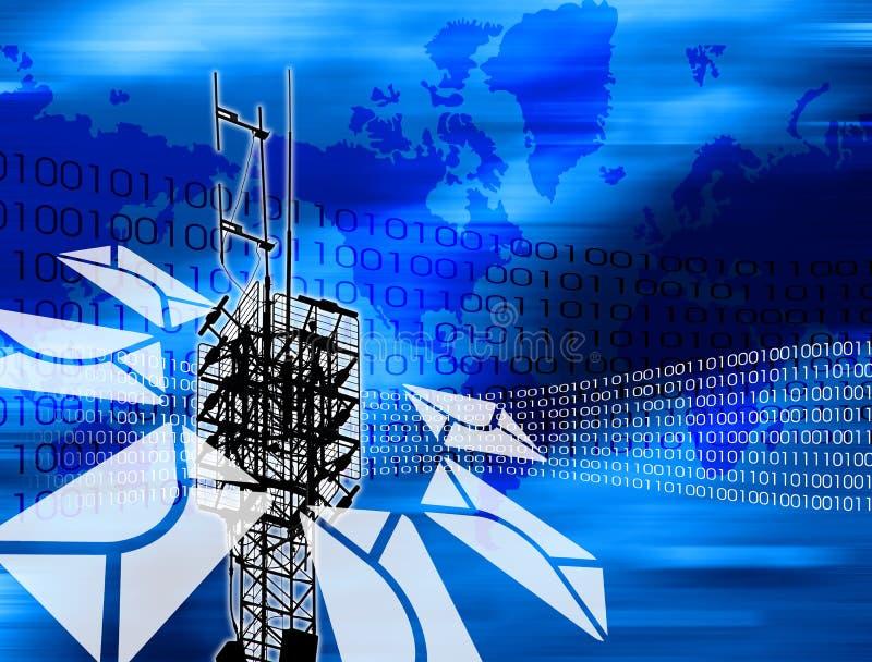 Telecommunicatie stock illustratie