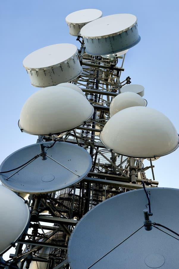Telecommunicatie toren 1 stock foto