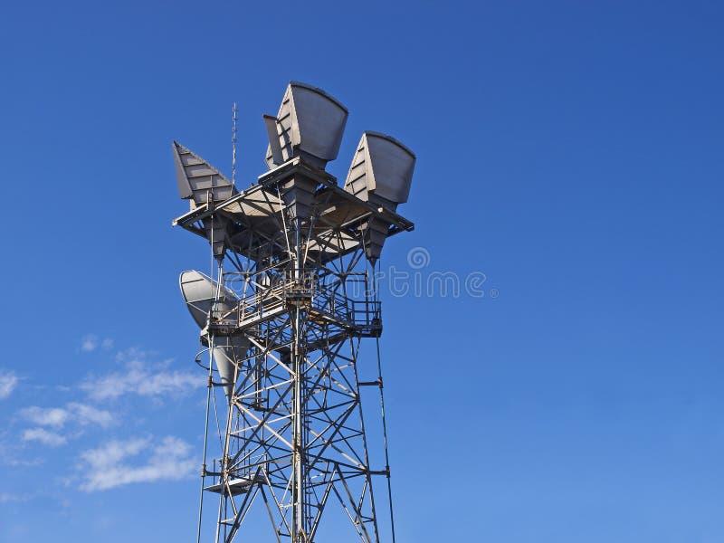 Telecommunicatie toren royalty-vrije stock foto