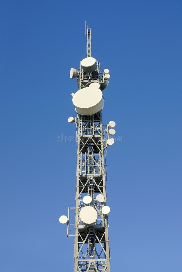 Telecommunicatie toren 6 royalty-vrije stock foto