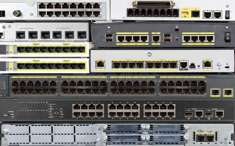 Telecommunicatie-uitrusting stock foto's