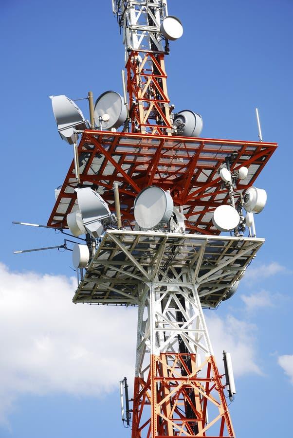 Telecommunicatie-uitrusting royalty-vrije stock foto's