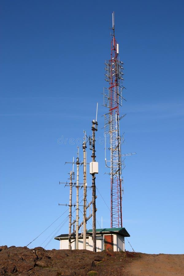 Telecommunicaties stock foto's