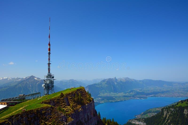 Telecommunicatietoren stock afbeeldingen