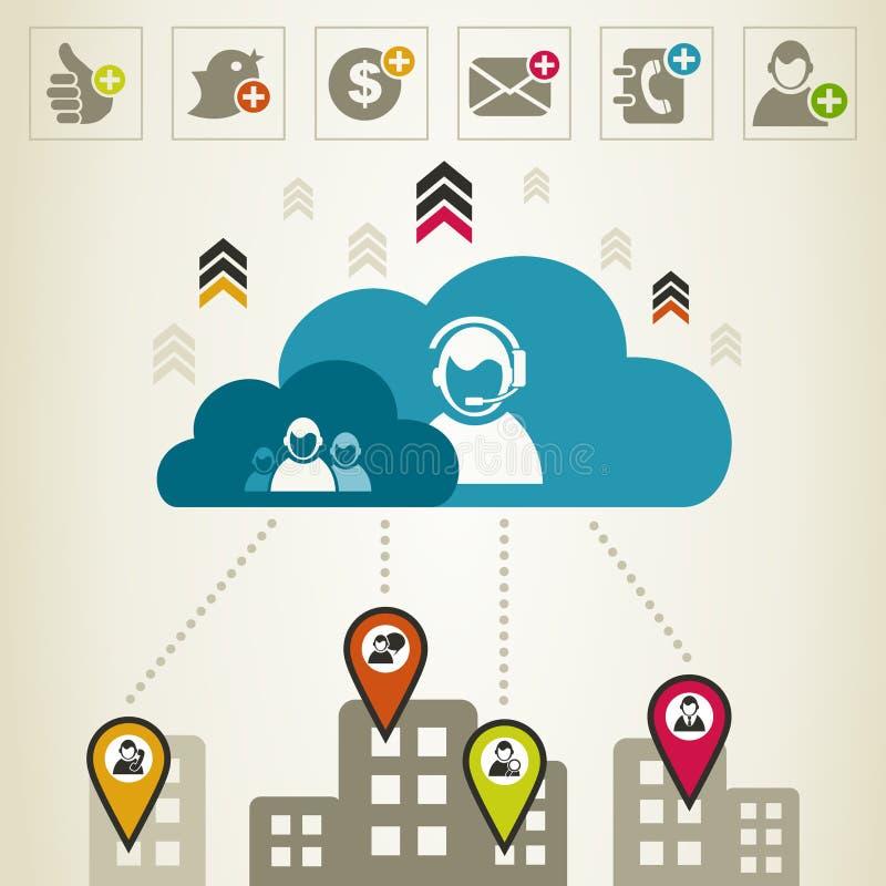 Download Telecommunication6 иллюстрация вектора. иллюстрации насчитывающей город - 33736545
