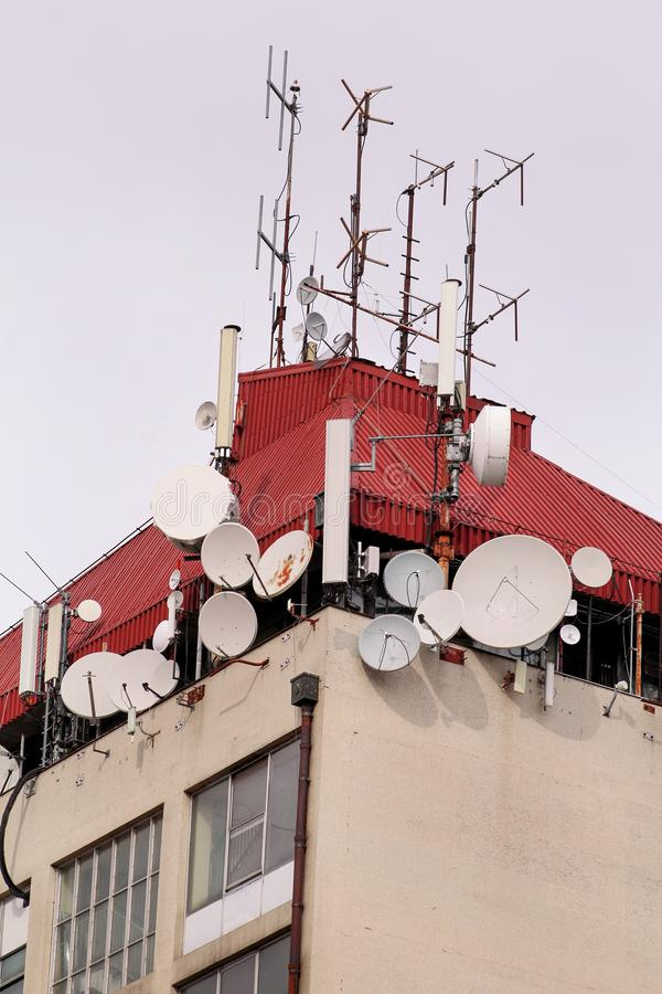 Telecommunication Room Design: Telecommunication Base Stations Network Repeaters On The