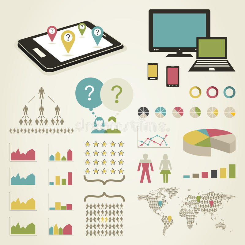Download Telecommunication stock vector. Illustration of businessman - 34695191