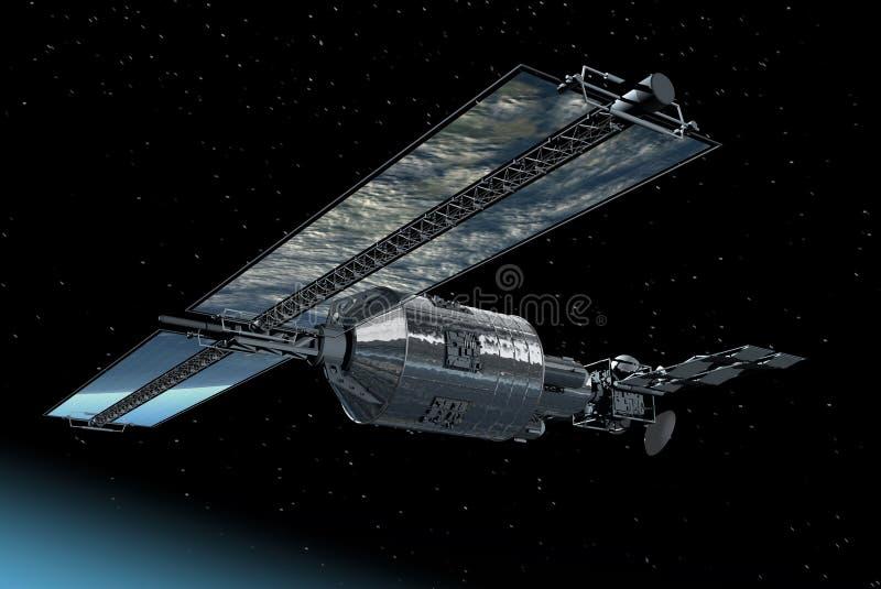 Telecommunication Satellite Royalty Free Stock Images