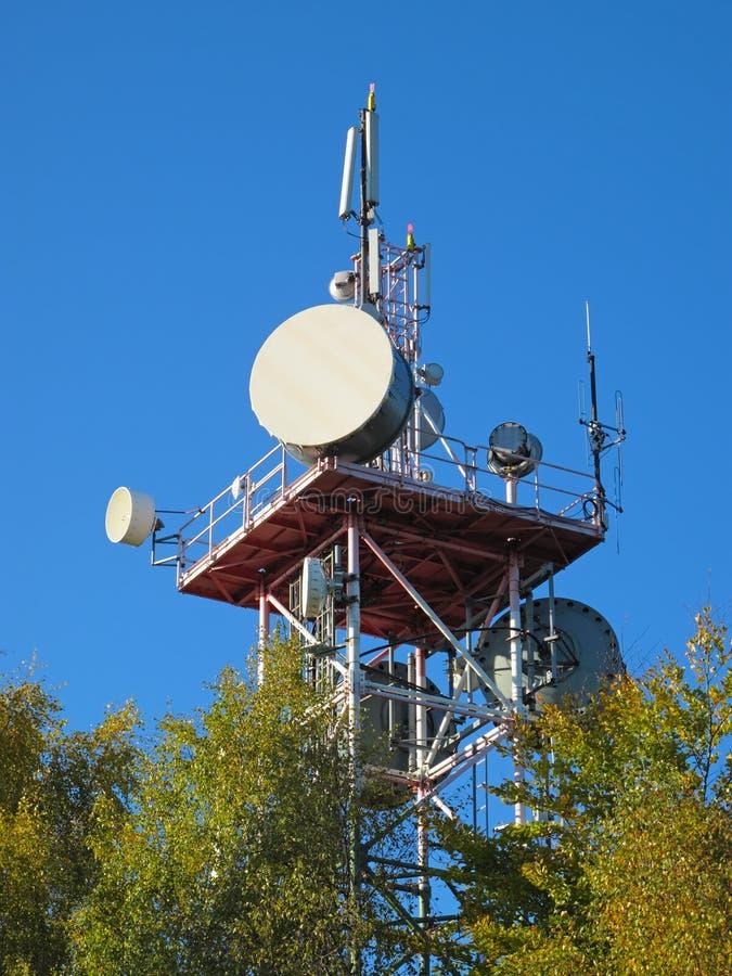 Download Telecommunication tower stock photo. Image of radio, satellite - 22183910