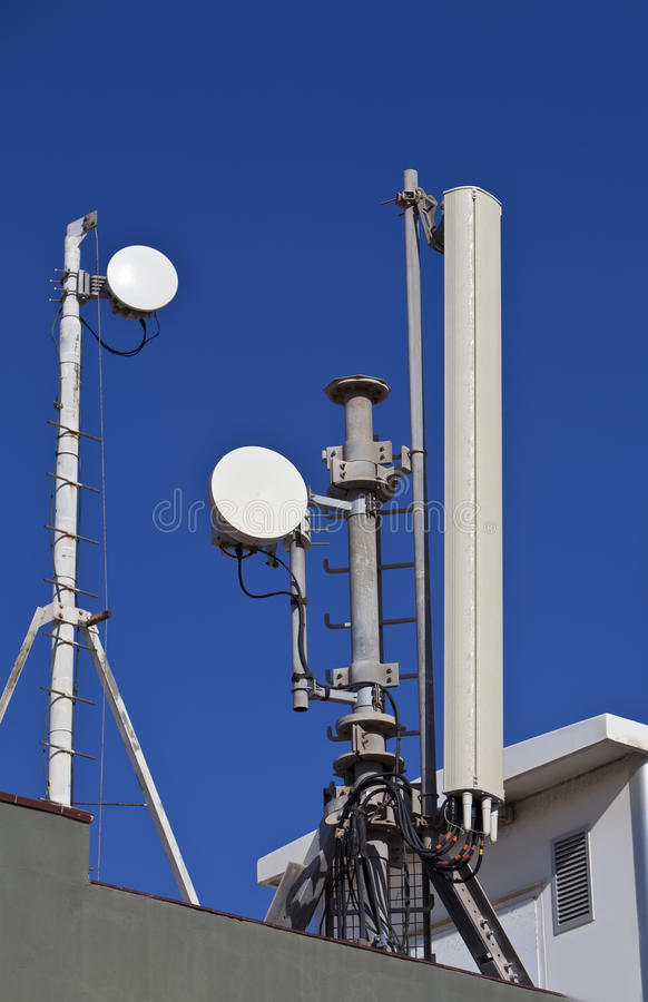 Download Telecommunication tower stock photo. Image of wireless - 22590702