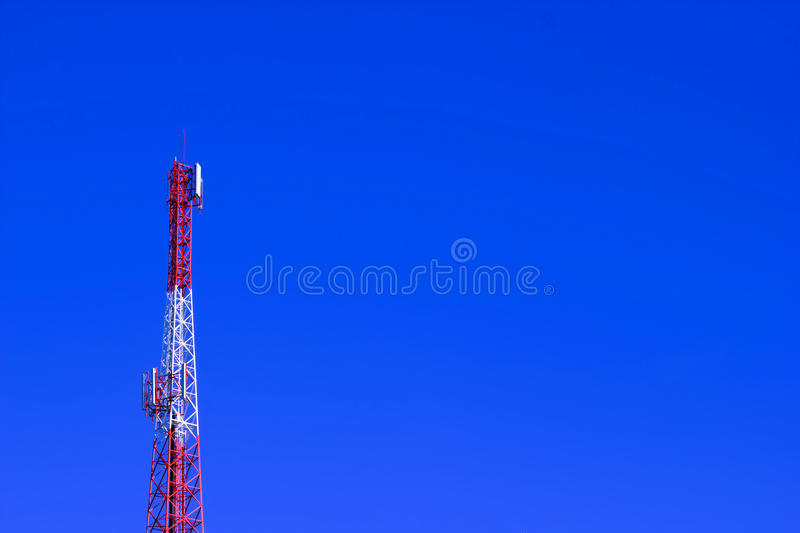 Download Telecommunication tower stock photo. Image of global - 26352548