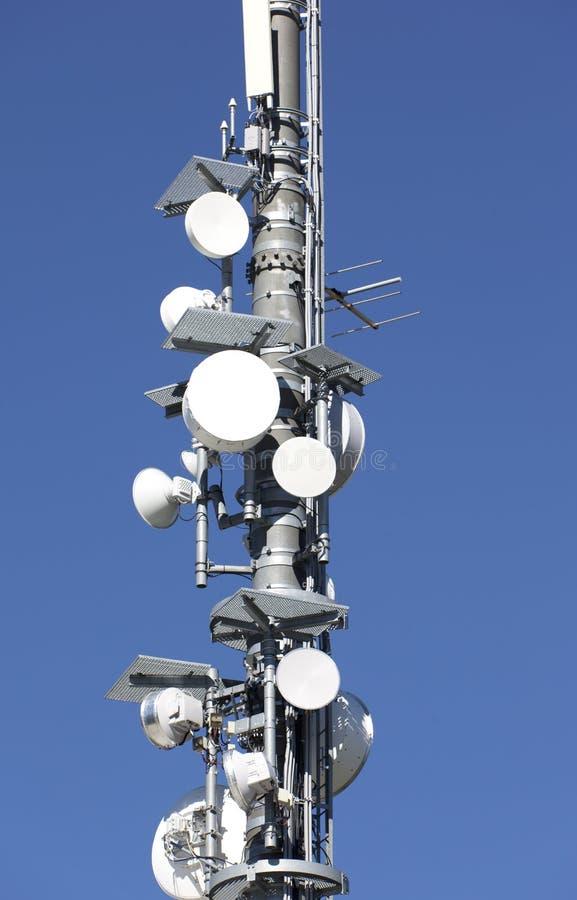 Free Telecommunication Tower Close Up Royalty Free Stock Photo - 20929555