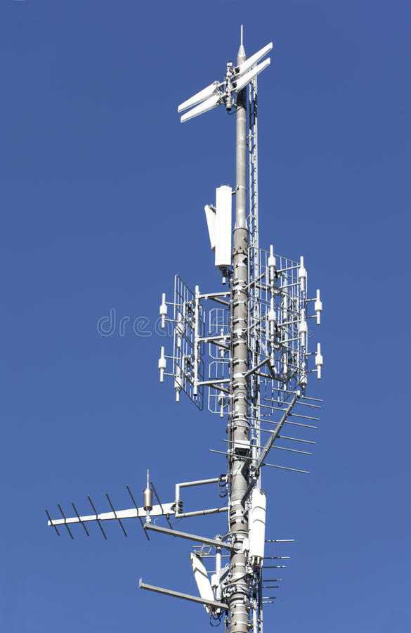 Free Telecommunication Tower Close Up Royalty Free Stock Photos - 20929578