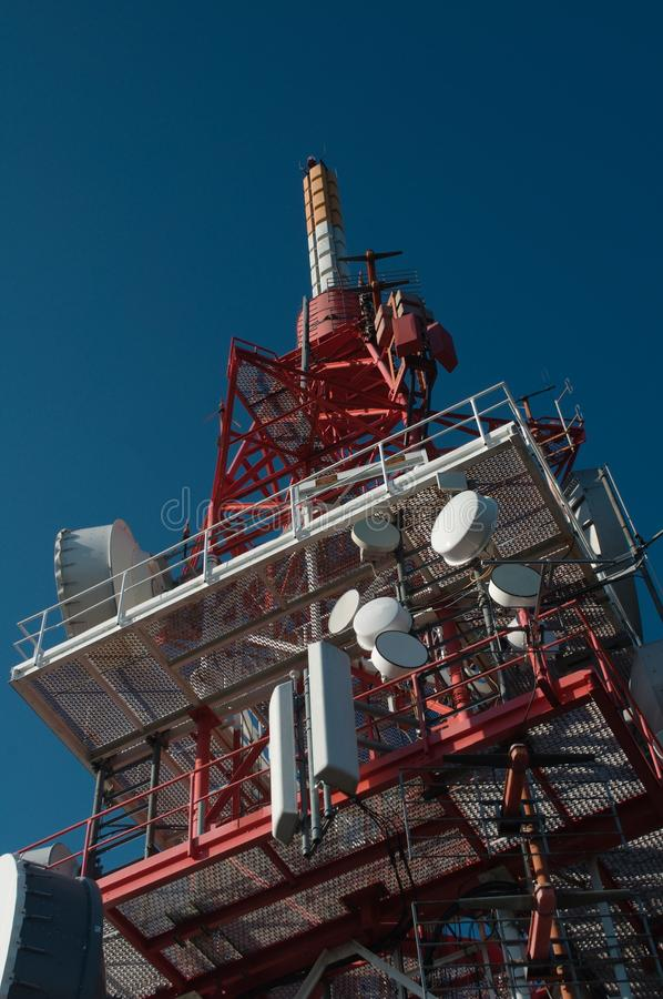Download Telecommunication Tower Stock Images - Image: 33501934