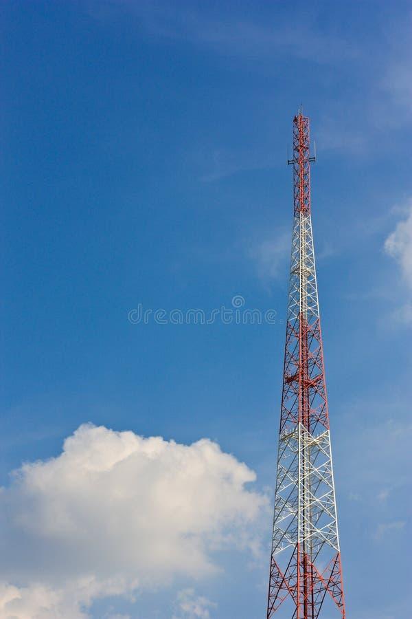 Download Telecommunications antenna stock image. Image of landscape - 25414765