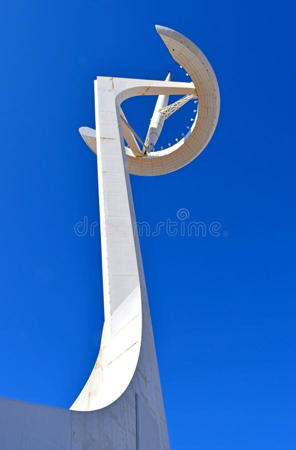 Telecommunications in Barcelona Spain. Europe royalty free stock images