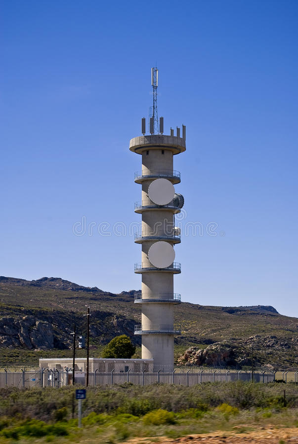 Download Telecommunications Tower stock photo. Image of cellular - 11408858
