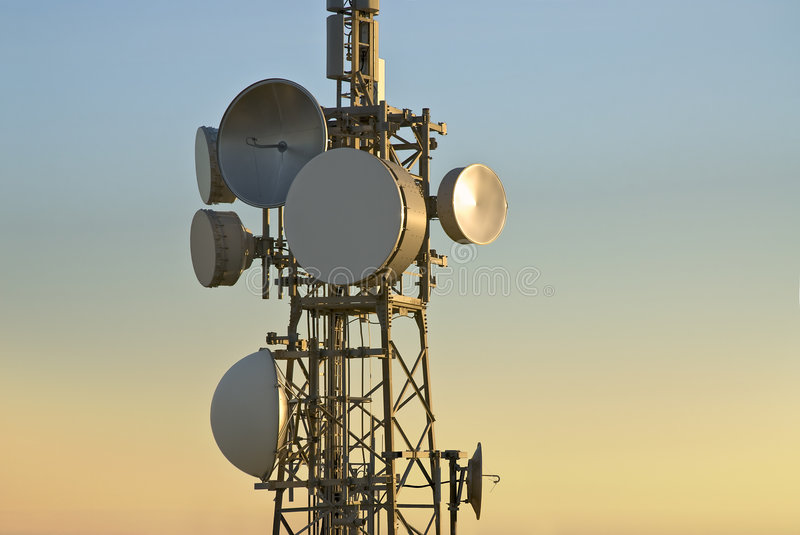 Download Telecommunications tower stock photo. Image of cell, data - 3777604