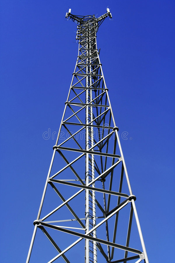 Download Telecommunications tower stock image. Image of antennae - 5610473
