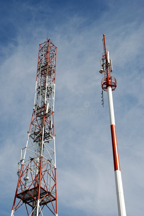 Download Telecommunications towers stock photo. Image of wave, tele - 6922632