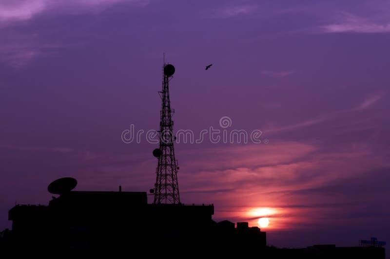 Telecomunicações fotografia de stock