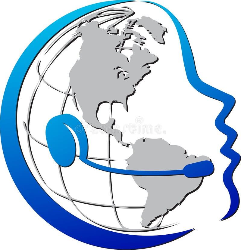 Telecomunicações ilustração royalty free