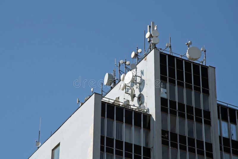 telecomunication royaltyfria bilder